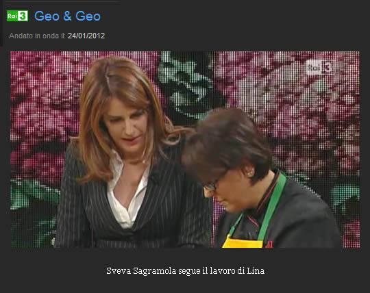 Sveva Sagramola segue il lavoro di Lina