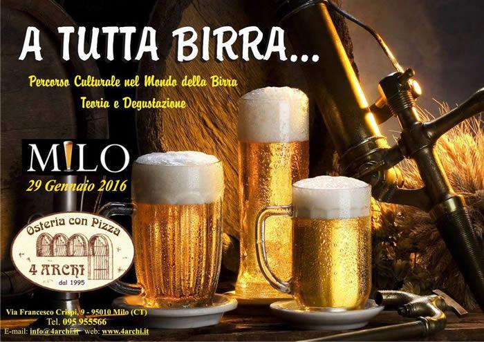 A tutta birra...